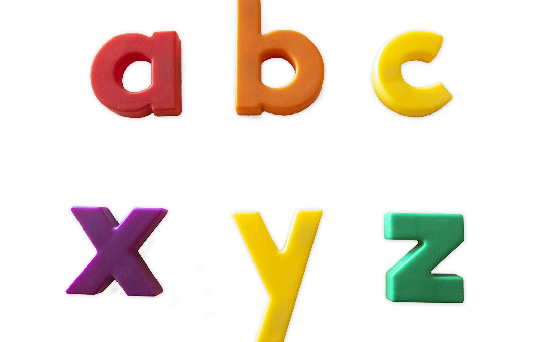 Step 2: Teaching The Alphabet With Magnetic Letters