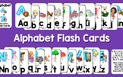 Teaching The Alphabet With Flash Cards